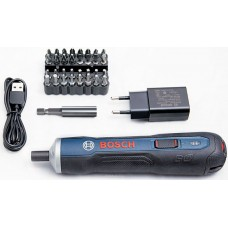 Отвертка аккумуляторная Bosch GO kit