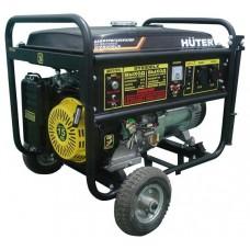 Электрогенератор Huter DY8000LХ с колесами 64/1/2