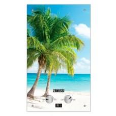 Водонагрев. газовый проточный Zanussi GWH 10 Fonte Glass Paradiso