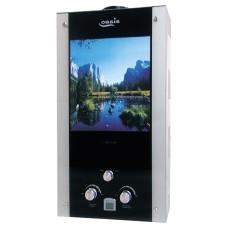 Водонагреватель газовый проточный Оазис серия Glass 20 LG