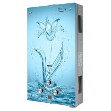 Водонагреватель газовый проточный Оазис серия Glass 20 SG