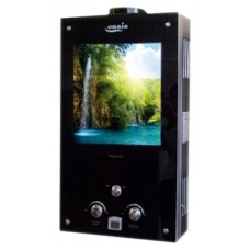 Водонагреватель газовый проточный Оазис серия Glass 20 VG